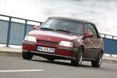 Opel Kadett E 2.0 GSi Cabriolet, Frontansicht