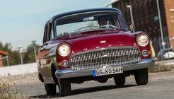 Opel Kapitän, Modell 1956, Frontansicht