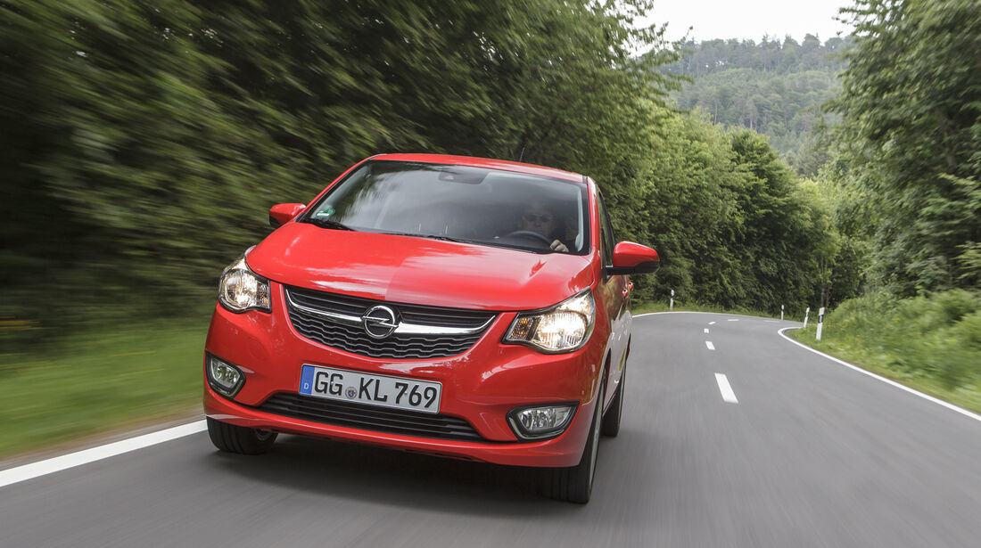Opel Karl 2015, Front