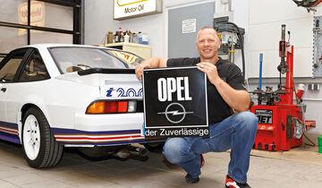Opel Manta i200, Heckansicht, Steffen Exner
