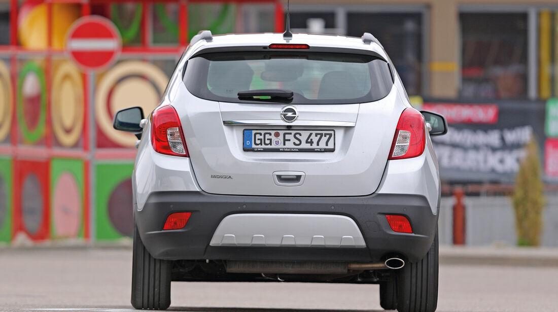 Opel Mokka 1.6 Edition, Heckansicht