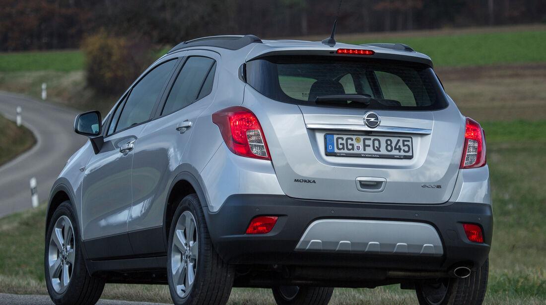 Opel Mokka 1.7 CDTi, Heckansicht
