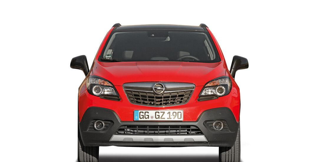 Opel Mokka, Abgastest auf der Straße, AMS2515