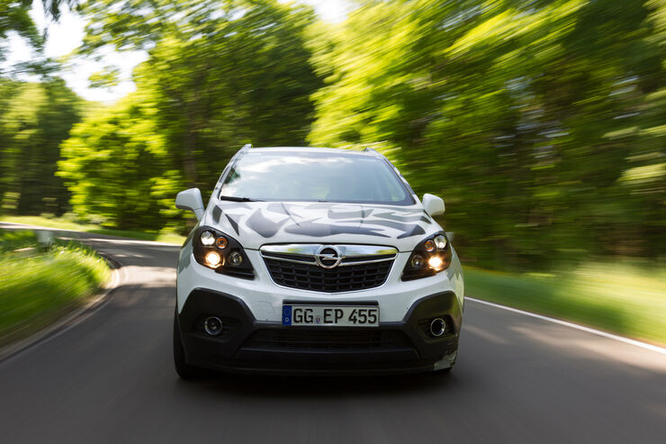 Opel Mokka, Frontansicht, Kühlergrill