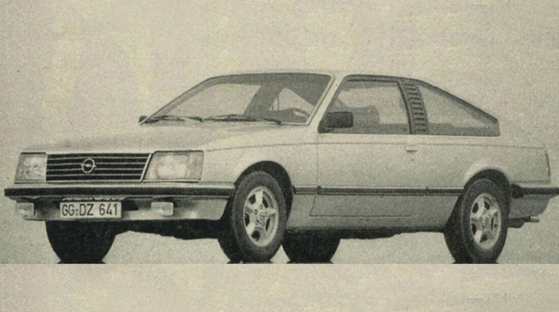Opel, Monza, IAA 1981