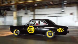 Opel Rekord C, Schwarze Witwe, Seintenansicht
