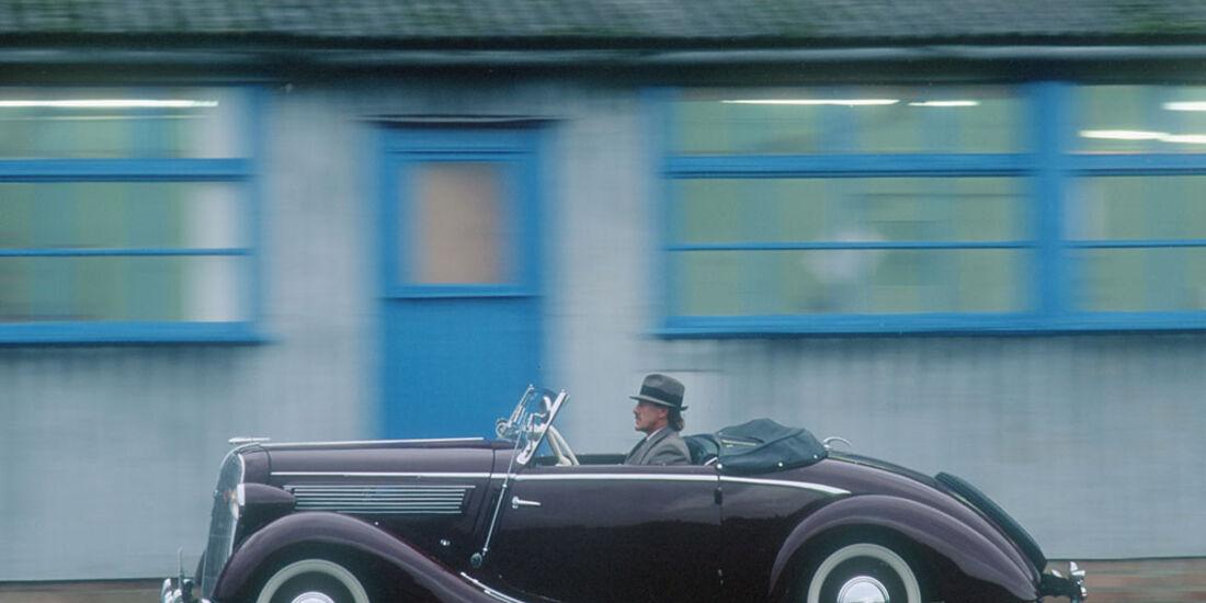 Opel Super 6 Gläser, Cabriolet, 1937