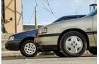 Opel Vectra 2.0i, Ford Sierra 2.0i, Front, Motorhauben