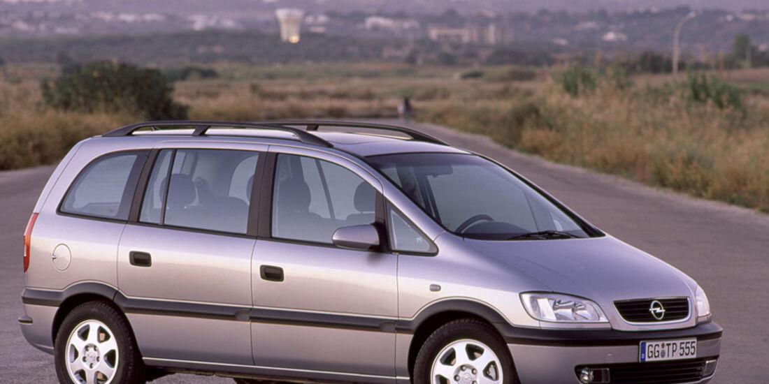 Opel Zafira, 1999-2002