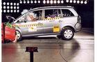 Opel, Zafira, Crashtest