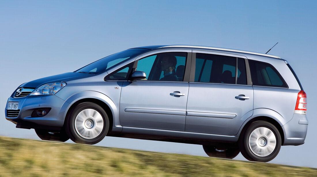 Opel Zafira Family, Seitenansicht