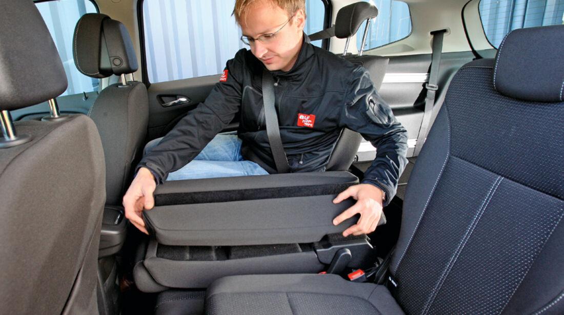 Opel Zafira Tourer 1.4 Turbo, Mittelarmlehne