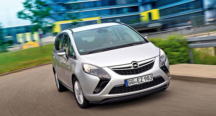 Opel Zafira Tourer 16 Cng Turbo Im Fahrbericht Spart Geld Und