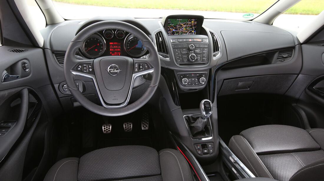 Opel Zafira Tourer 1.6 DI Turbo, Cockpit