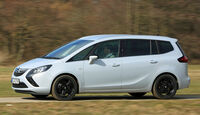 Opel Zafira Tourer 2.0 Biturbo CDTi Sport, Seitenansicht