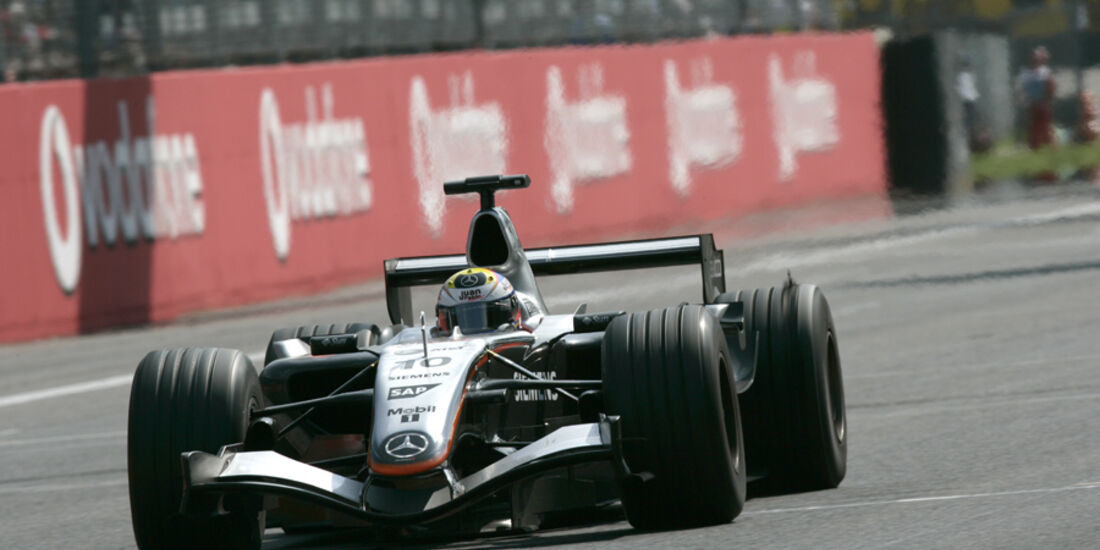 Pablo Montoya F1 Top Speed