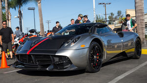 Pagani Huyara Tempesta - Supercar-Show - Newport Beach - Oktober 2016
