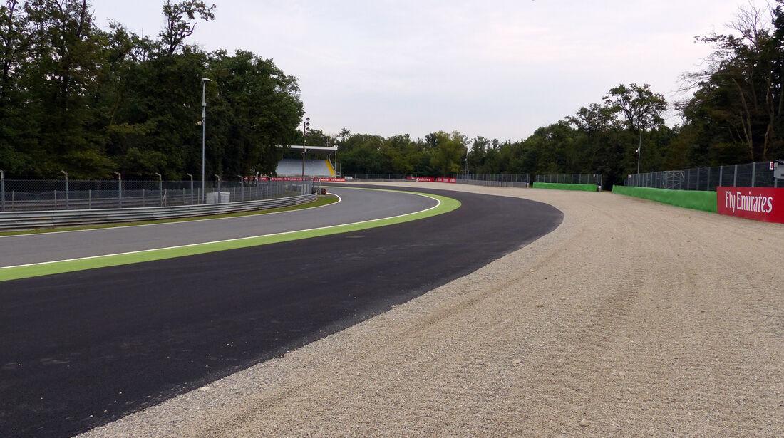 Parabolica - Formel 1 - GP Italien - 3. September 2014