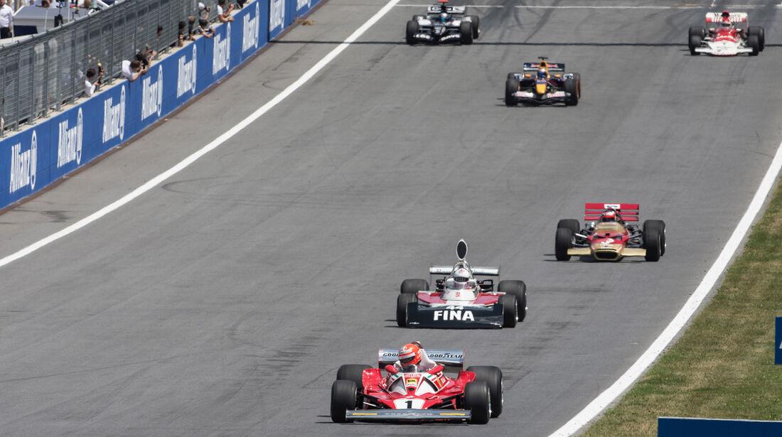 Parade - GP-Legenden - GP Österreich 2014