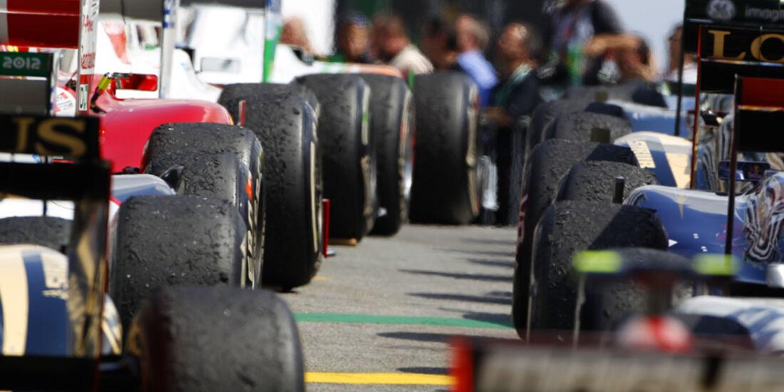 Parc Fermé GP Brasilien 2011