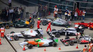 Parc Ferme GP China 2011