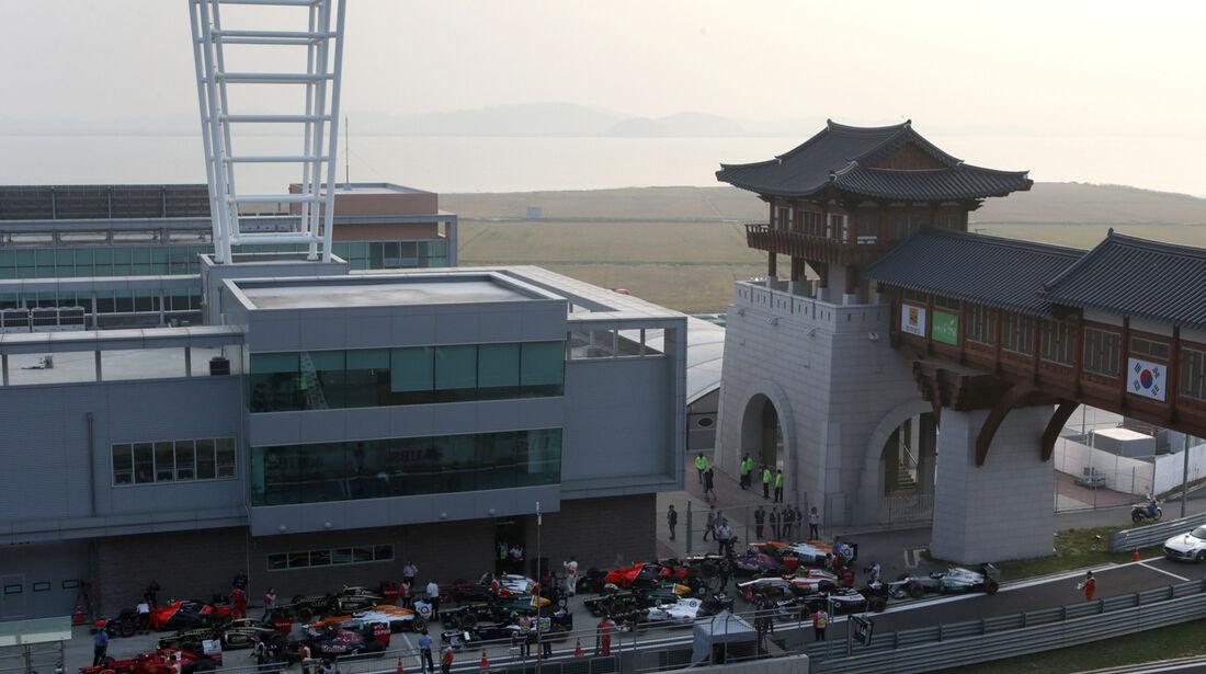 Parc Ferme GP Korea 2012