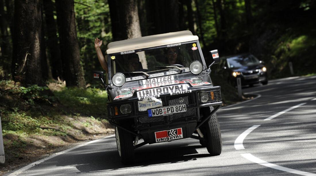 Paris-Dakar-Sieger VW Iltis bei der  Silvretta Classic 2010