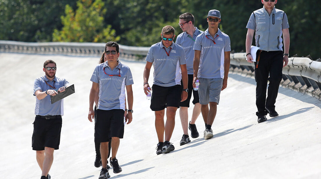 Pascal Wehrein - Manor - Formel 1 - GP Italien - Monza - 1. September 2016