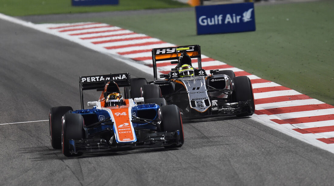 Pascal Wehrlein - Crazy Stats - GP Bahrain 2016