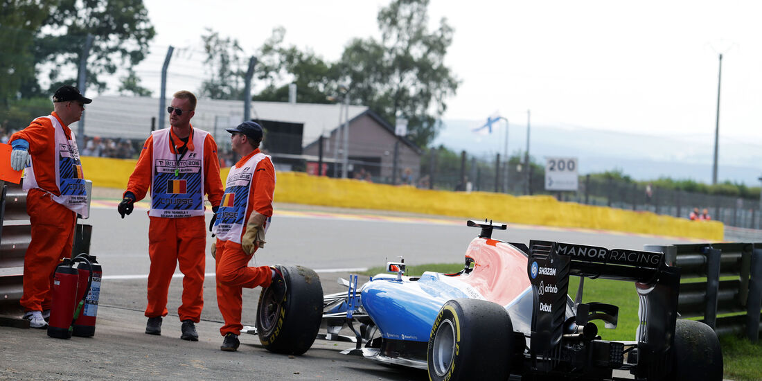 Pascal Wehrlein - Formel 1 - GP Belgien 2016