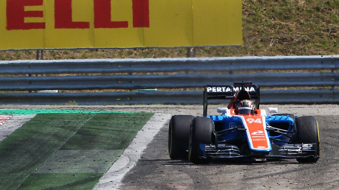 Pascal Wehrlein - Formel 1 - GP Ungarn 2016