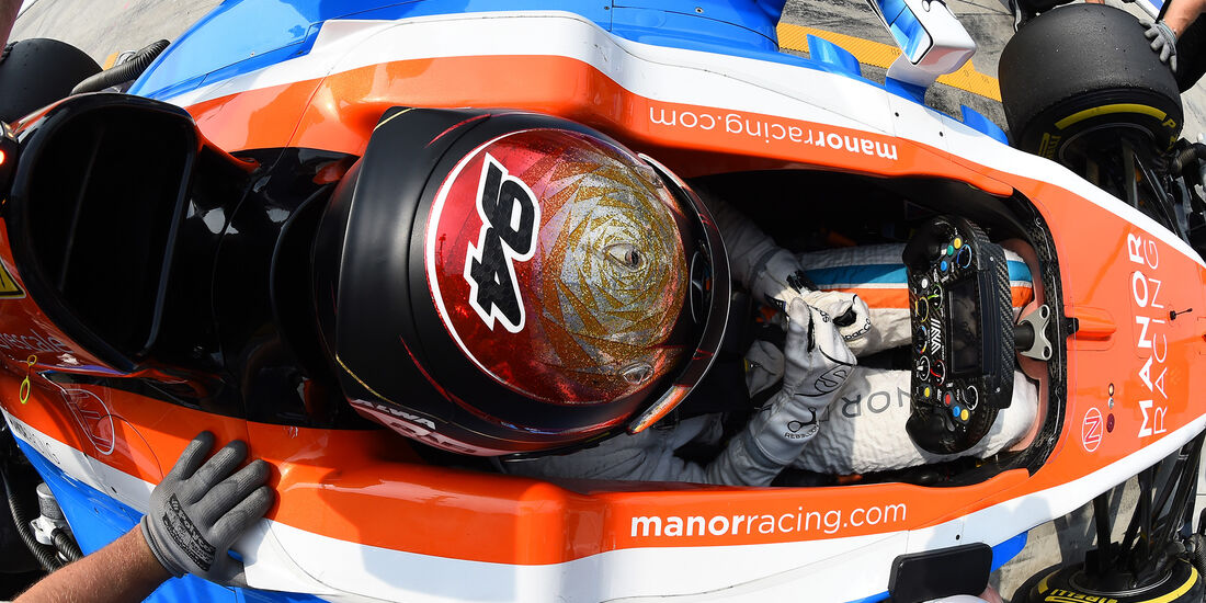 Pascal Wehrlein - Manor - Formel 1 - GP Italien - Monza - 2. September 2016