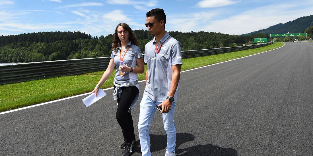 Pascal Wehrlein - Manor - Formel 1 - GP Österreich -  30. Juni 2016