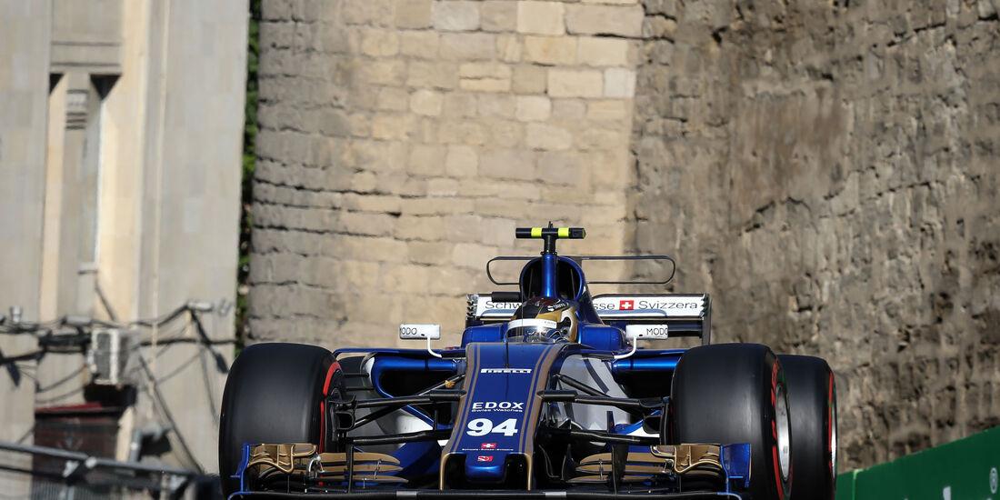 Pascal Wehrlein - Sauber - GP Aserbaidschan 2017 - Baku - Rennen