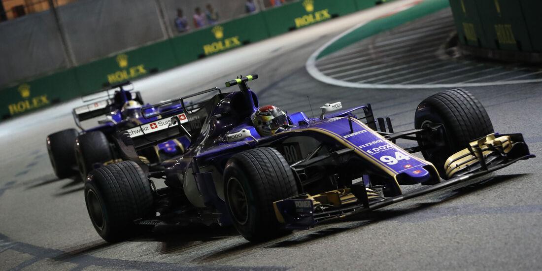 Pascal Wehrlein - Sauber - GP Singapur 2017 - Rennen