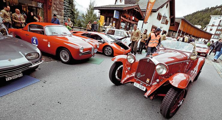 Passione Engadina, St. Moritz, Concours d'Élégance