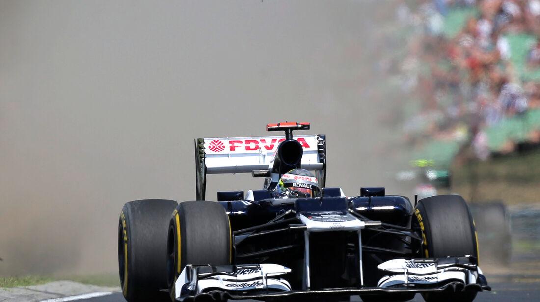 Pastor Maldonado GP Ungarn 2012