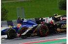 Pastor Maldonado - Lotus - Felipe Nasr - Sauber - GP Österreich - Formel 1 - Sonntag - 21.6.2015