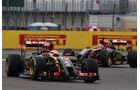 Pastor Maldonado - Lotus - Formel 1 - GP England - Silverstone - 5. Juli 2014