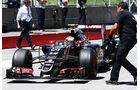 Pastor Maldonado - Lotus - Formel 1 - GP Kanada - Montreal - 6. Juni 2015