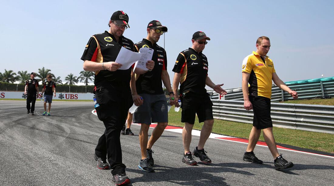 Pastor Maldonado - Lotus - Formel 1 - GP Malaysia - Sepang - 27. März 2014