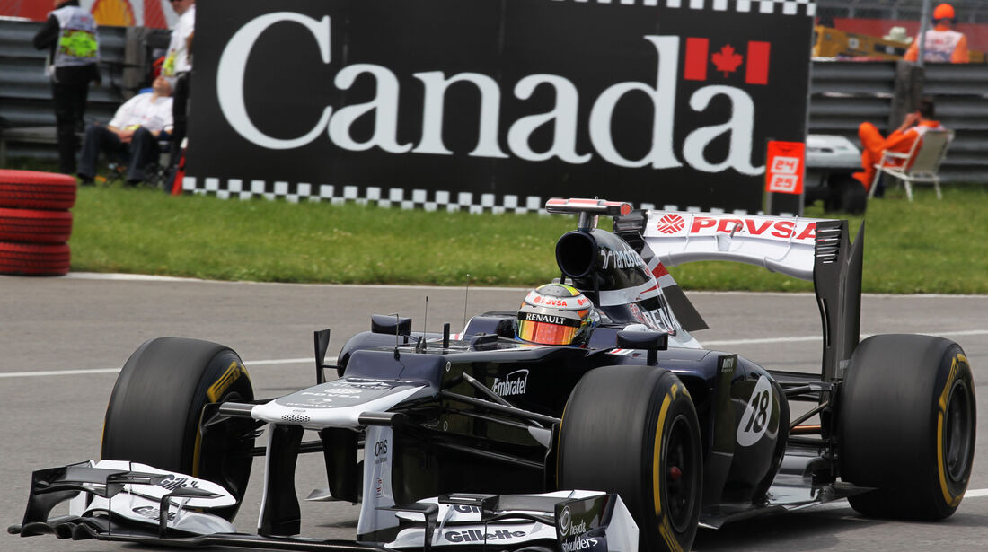 Pastor Maldonado - Williams - Formel 1 - GP Kanada - 8. Juni 2012