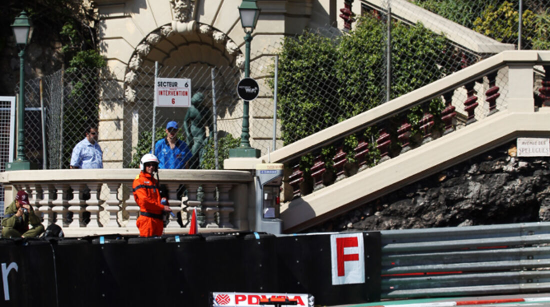 Pastor Maldonado - Williams - Formel 1 - GP Monaco - 24. Mai 2012