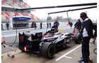 Pastor Maldonado - Williams - Formel 1 - Test - Barcelona - 21. Februar 2013
