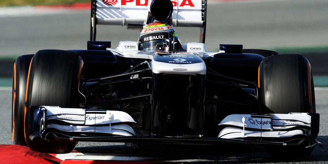 Pastor Maldonado - Williams - Formel 1 - Test - Barcelona - 3. März 2013