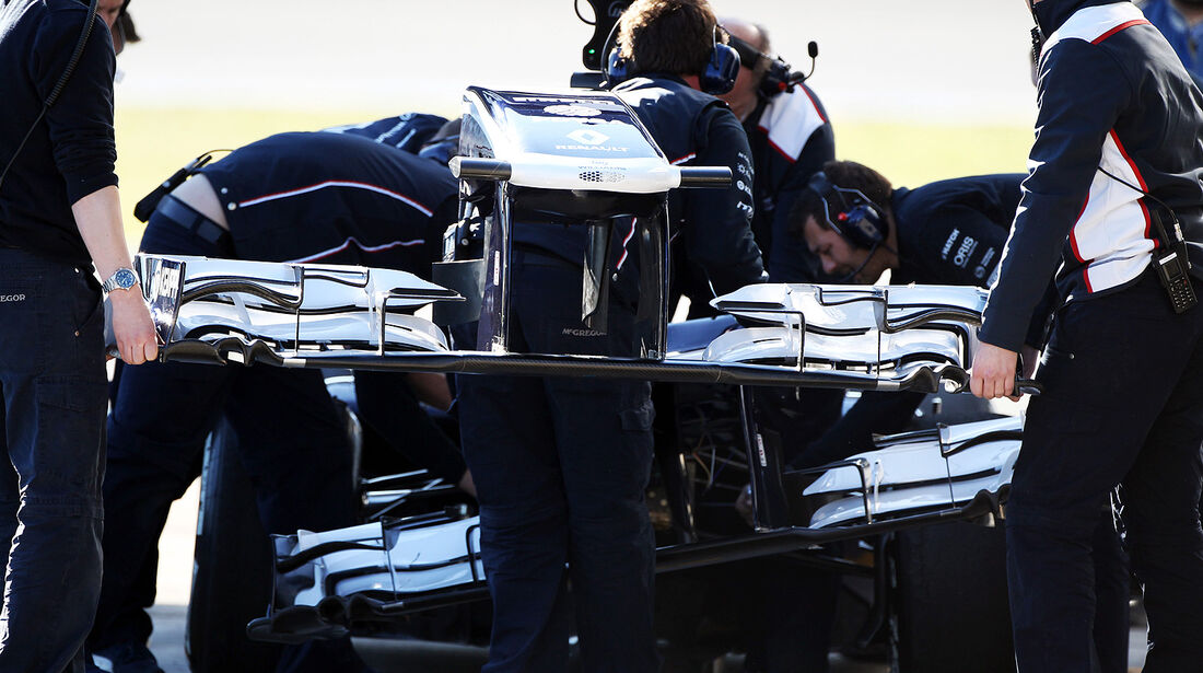 Pastor Maldonado, Williams, Formel 1-Test, Jerez, 5.2.2013