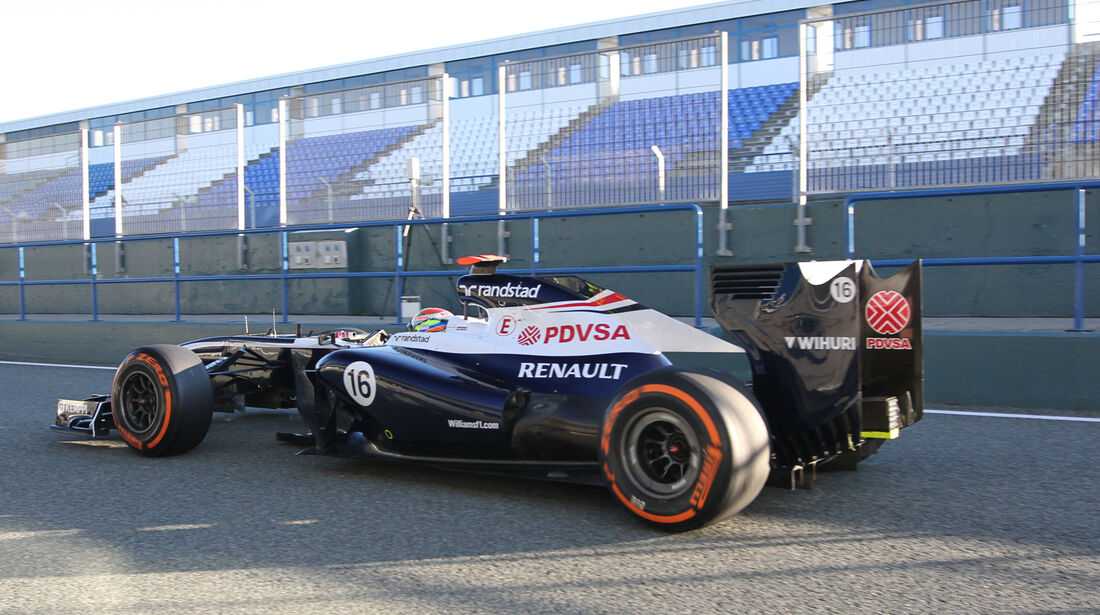 Pastor Maldonado - Williams - Formel 1 - Test - Jerez - 5. Februar 2013