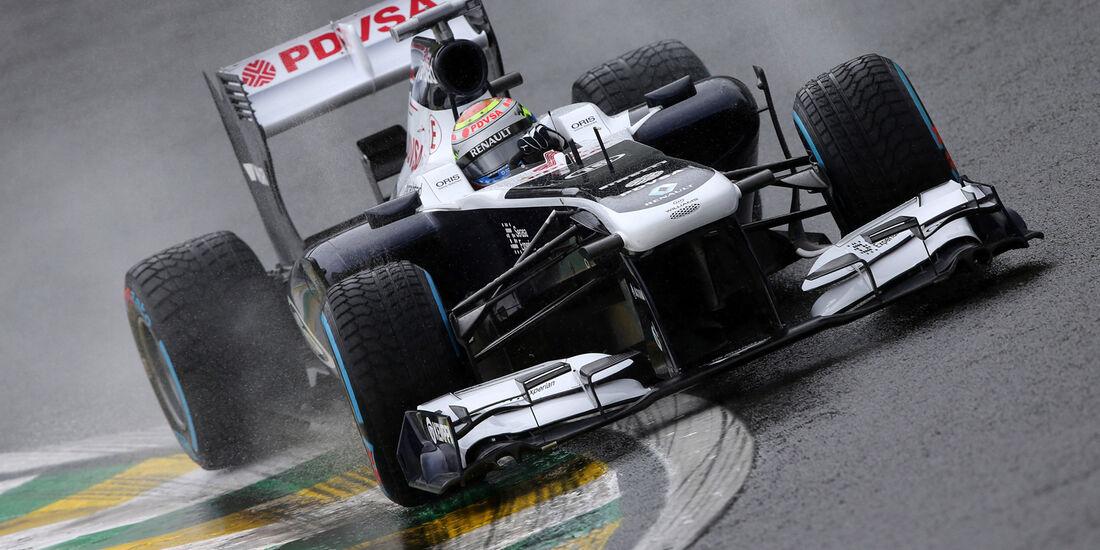 Pastor Maldonado - Williams - GP Brasilien - 23. November 2013