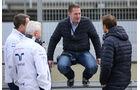 Pat Symonds, Jos Verstappen & Alex Wurz - Formel 1-Test - Barcelona - 24. Februar 2016