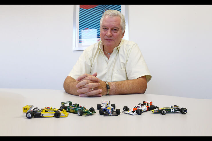 Pat Symonds - Top 5 F1-Autos
